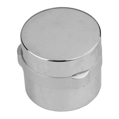 Металлическая ручка переключения режимов смесителя душевой кабины