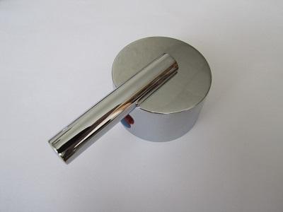 Металлическая ручка смешивания воды смесителя душевой кабины