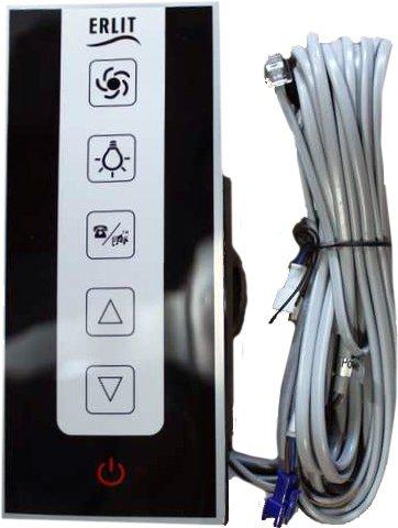 Пульт управления душевой кабины сенсорный 45 серия, размер внутренний: 157х63 мм