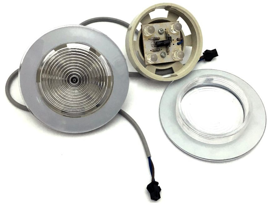 Лампа крыши душевой кабины led четыре светодиода, 12V, 12W