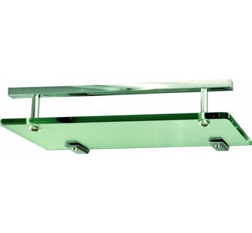 Универсальная стеклянная полка для душевой кабины (320 мм)