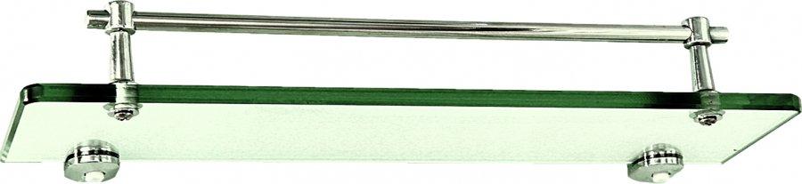 Полка стеклянная 5 серия 318x90 мм