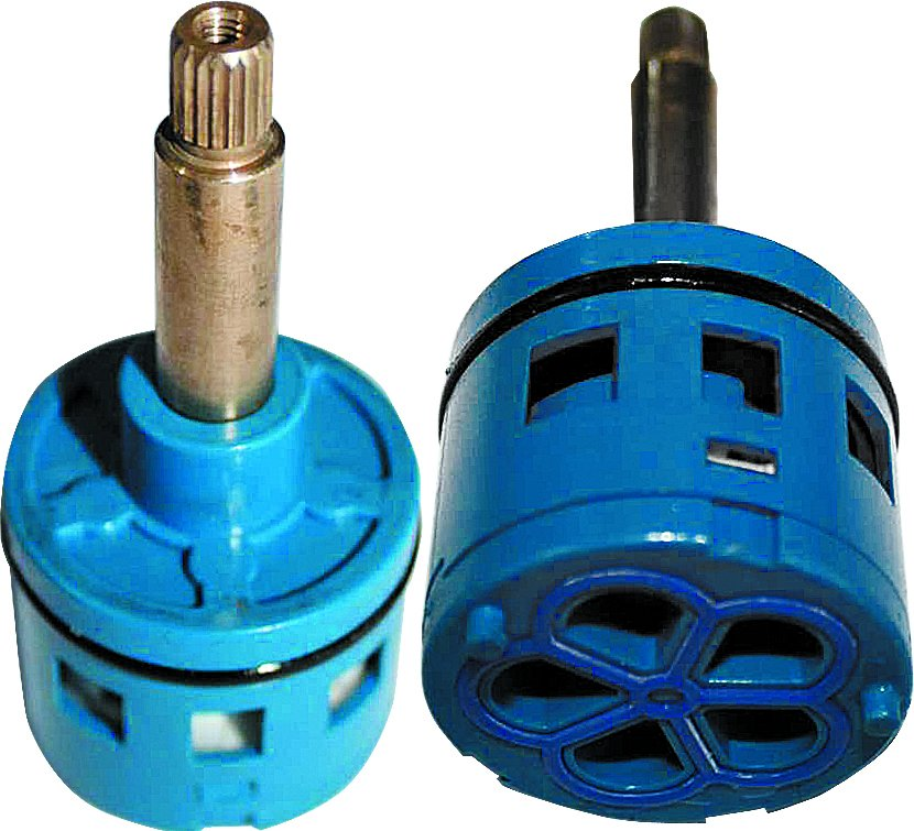 Картридж смесителя душевой кабины на 4 режима D37 мм, шток 51 мм, (квадрат)