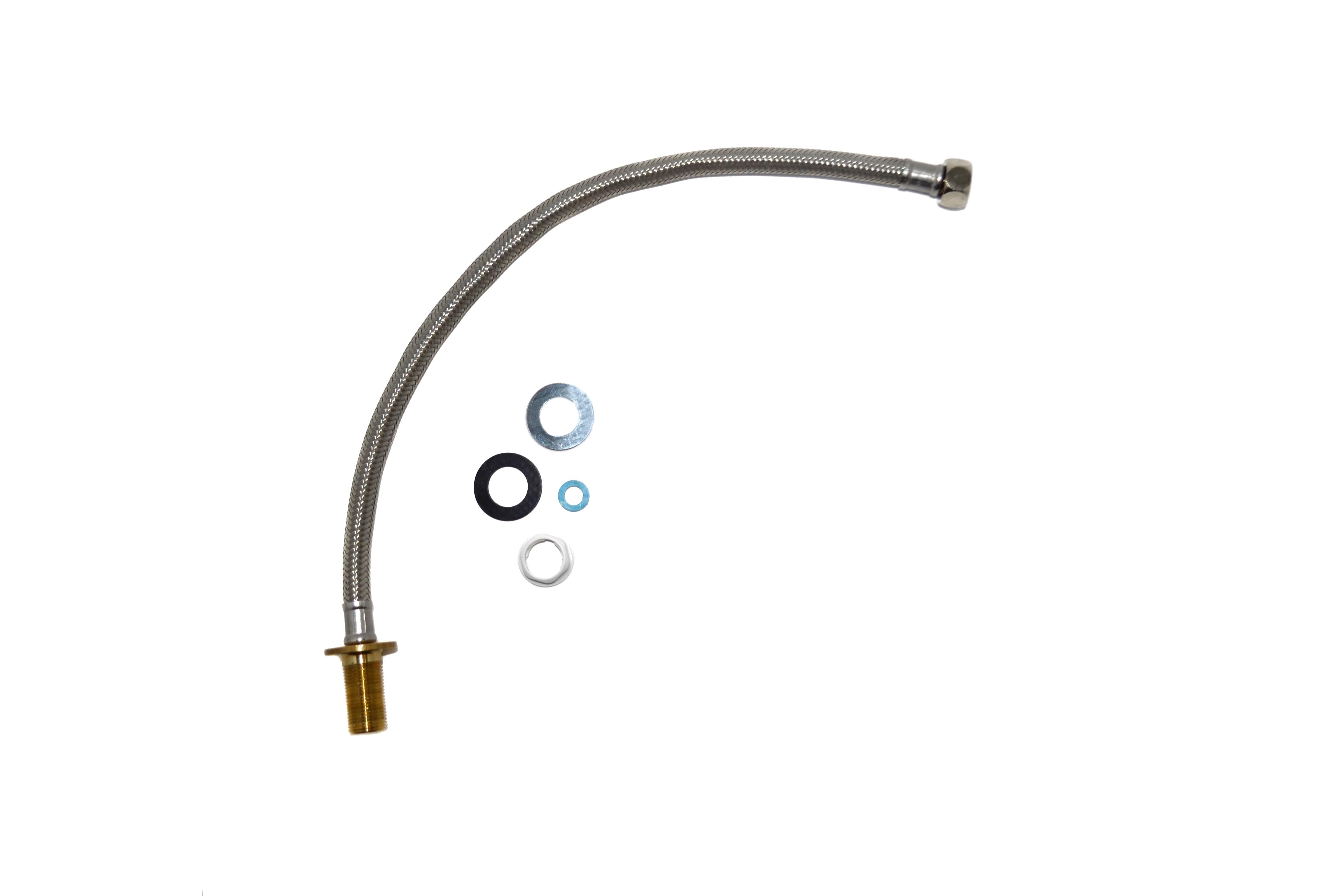 Гибкая подводка для наливного механизма напольного унитаза и инсталляции с подводом воды 3/8 дюйма