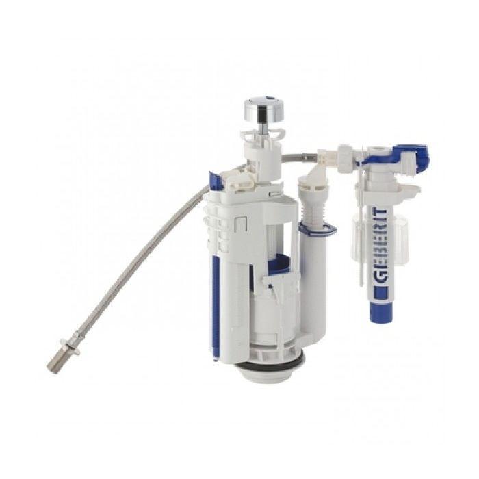 Комплект с впускным клапаном и смывным механизмом унитаза Geberit Impuls 590