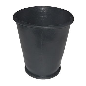 Манжета конусная унитаза РОССИЯ D=60 х 80 черная