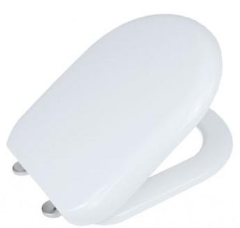 Крышка сиденье для унитаза с микролифтом антибактериальное