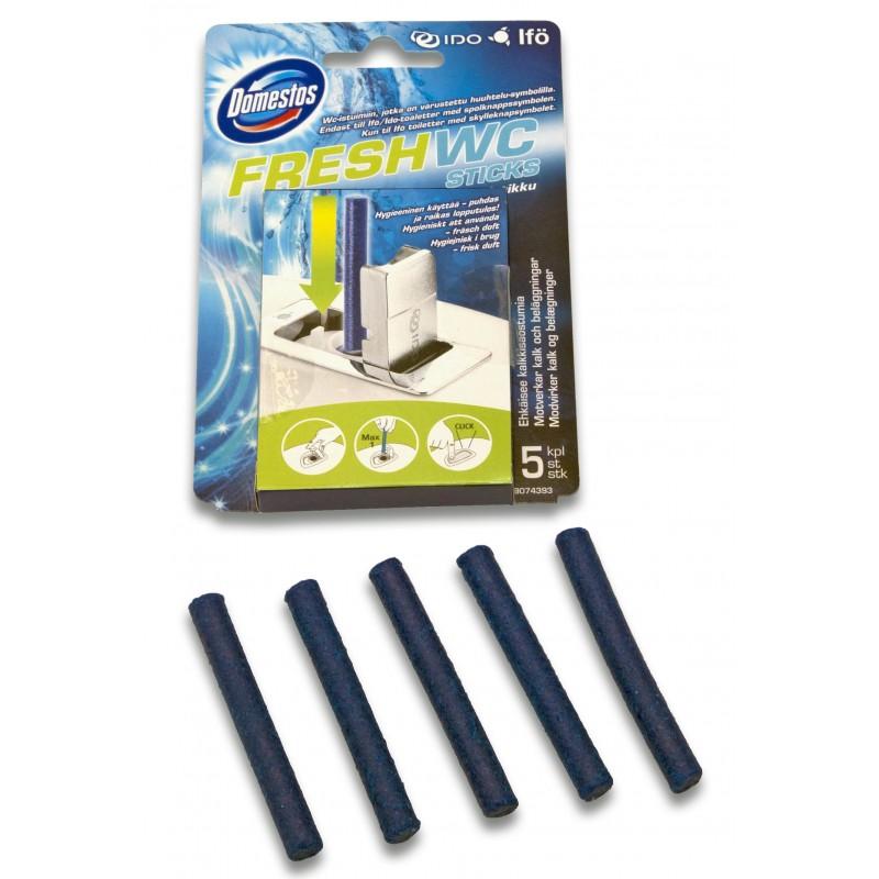 Палочки освежители Fresh WC для унитазов и инсталляции IDO и IFO (упаковка 5 шт.)