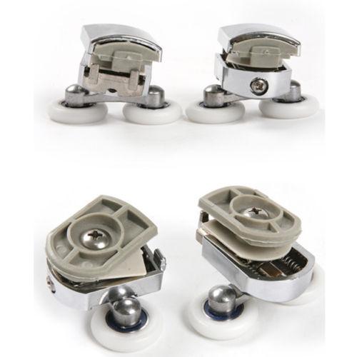 Металлические ролики для душевой кабины River Ø23 мм (Комплект на одну дверь)