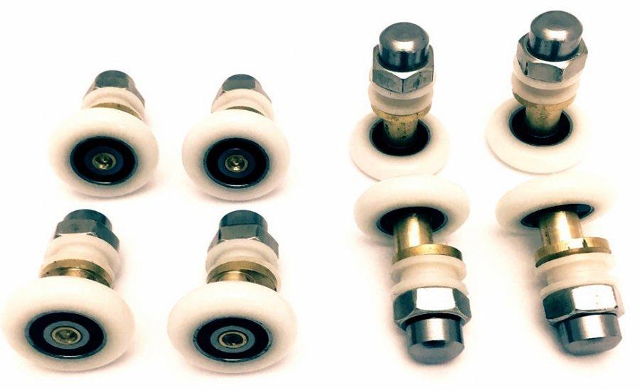 Ролик для душевой кабины эксцентрик Ø19 мм (верхний и нижний)