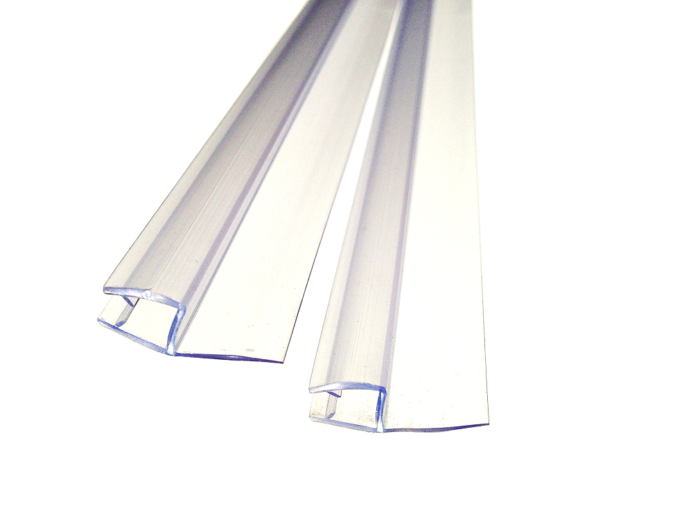 Уплотнитель для душевой кабины для стекла 8 мм