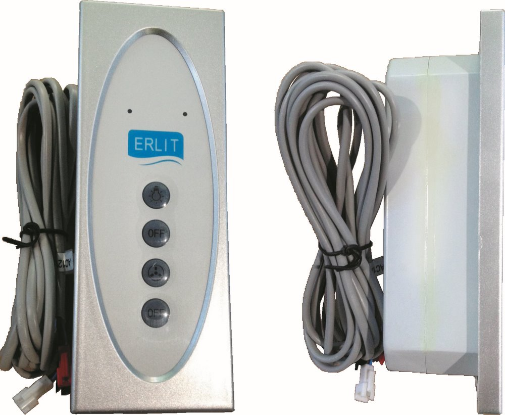 Пульт управления душевой кабины кнопочный 2509 тр, размер: внутренний: 156х55 мм