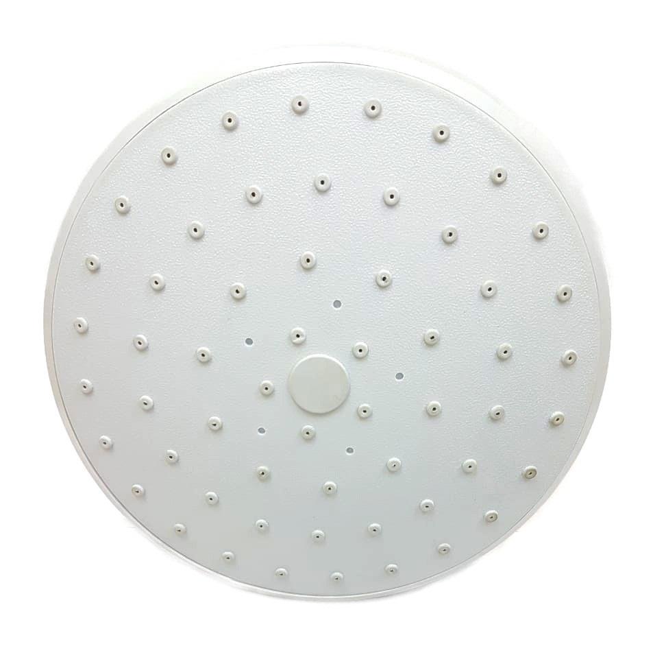 Тропический душ верхний душевой кабины D150 мм белый