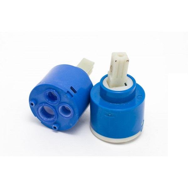 Картридж смешивания воды смесителя душевой кабины D40 мм, шток 22 мм