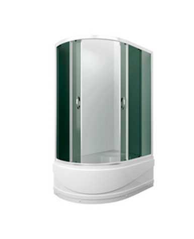 Душевой уголок Comfort 120х180х195, высокий поддон, тонированное стекло