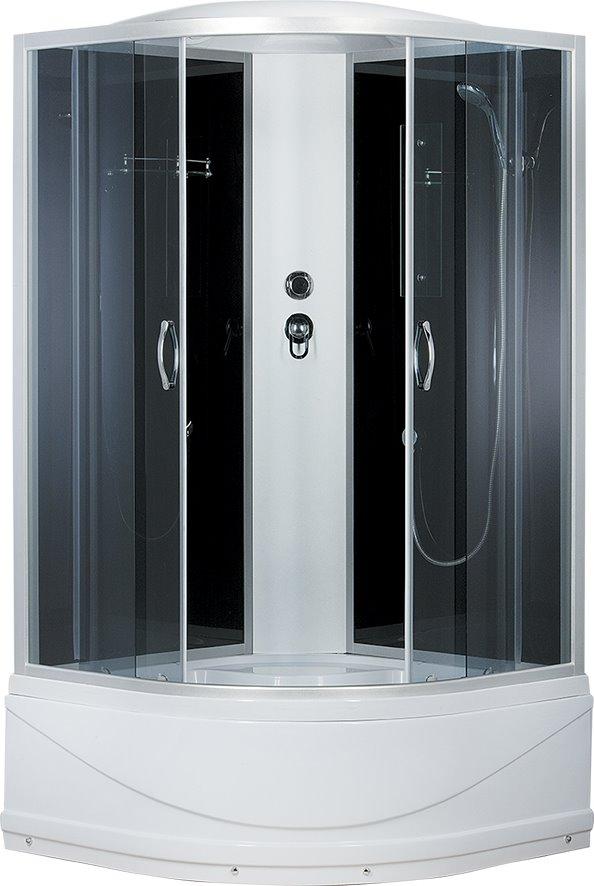Душевая кабина Comfort 100х100х215, высокий поддон, тонированное стекло