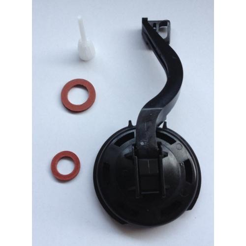 Комплект Ideal Standard для наливного механизма боковой и нижней подводки унитаза (мембрана, крышка, ручка и клапан)