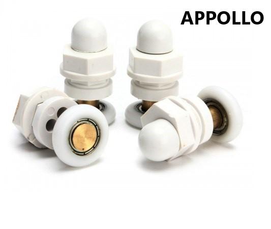 Ролики для душевой кабины Appollo (Апполло) 22 мм (комплект на одну дверь 4 шт.)