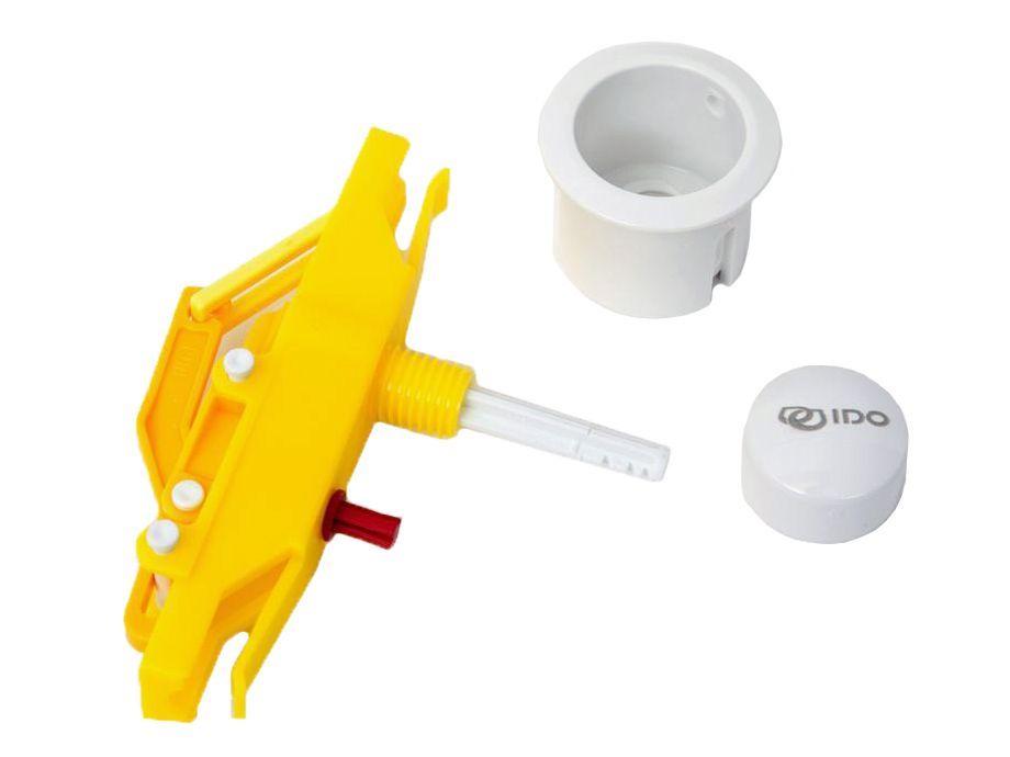 Комплект кнопки слива с нажимным механизмом IDO Trevi Z6409100001