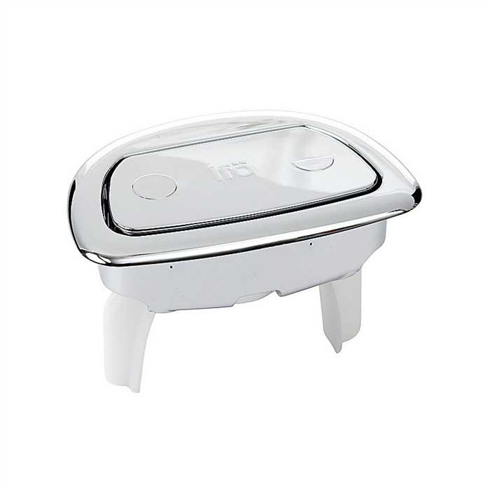 Двухрежимная кнопка слива с Fresh wc для унитазов Ifo Sign